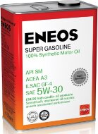 ENEOS Super Gasoline 100% Synt SM 5W-30 (4л) Масло моторное синтетическое