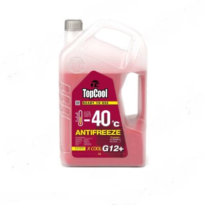 Антифриз TopCool Antifreeze X cool (Акция5+1=6л) -40 С Розовый G12+